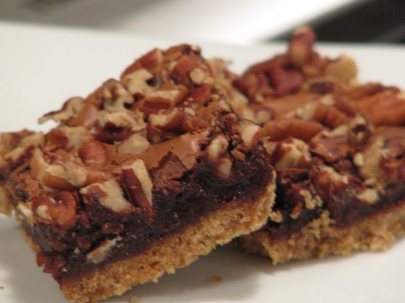 Milk Chocolate Pecan Bars