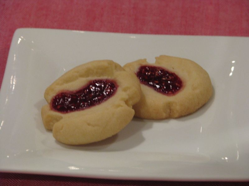 Thumbprint Cookies from friendsfoodfamily.com