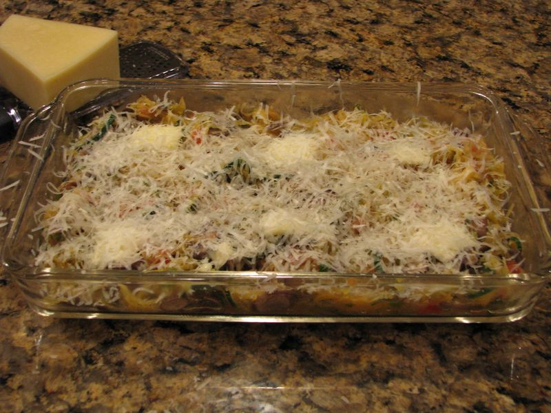 Veggies with cheese