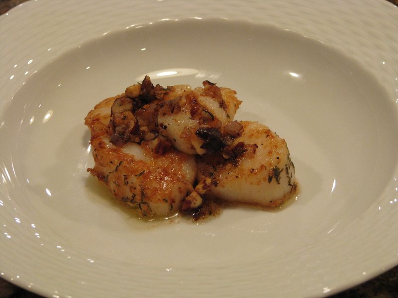 Scallops at www.friendsfoodfamily.com