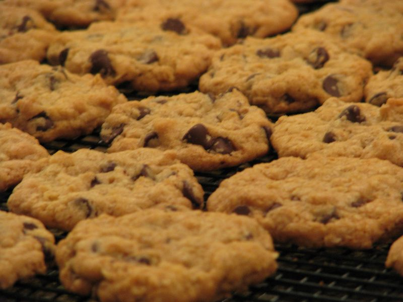 Hillary Clinton's Chocolate Chip Cookies at friendsfoodfamily.com