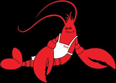 Logo of red Lobster with White Apron[1]