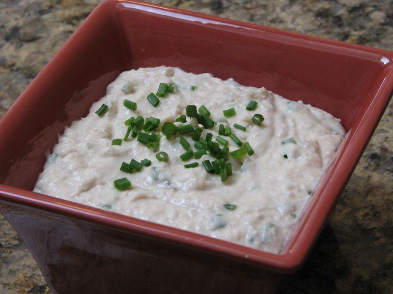 Bean Dip at www.friendsfoodfamily.com