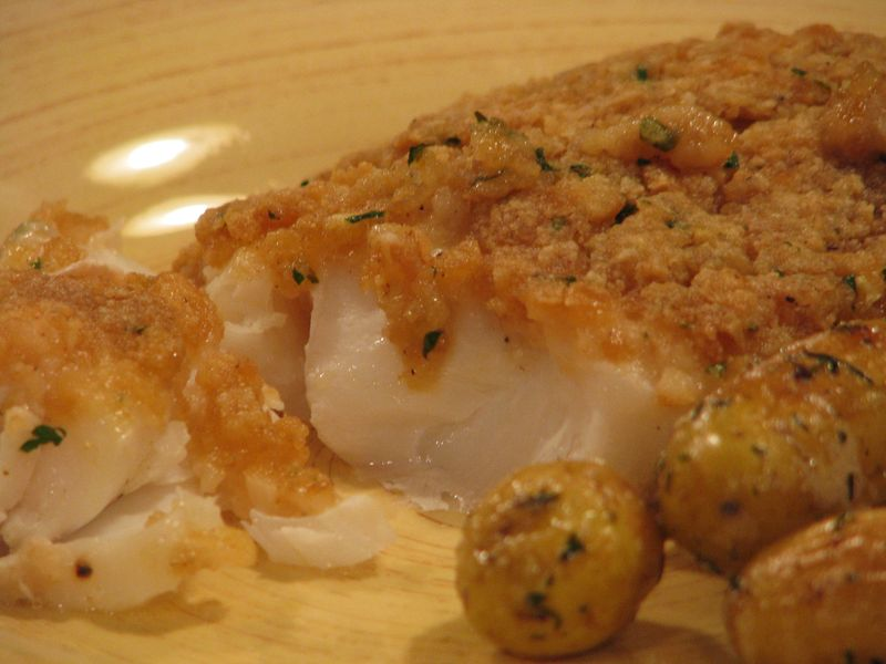 Baked Scrod at www.friendsfoodfamily.com