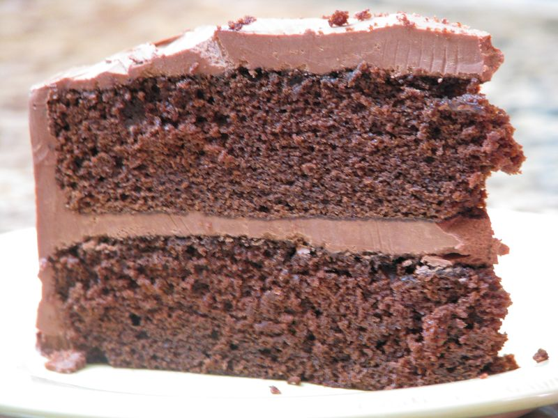 Chocolate Mayonnaise Cake at www.friendsfoodfamily.com