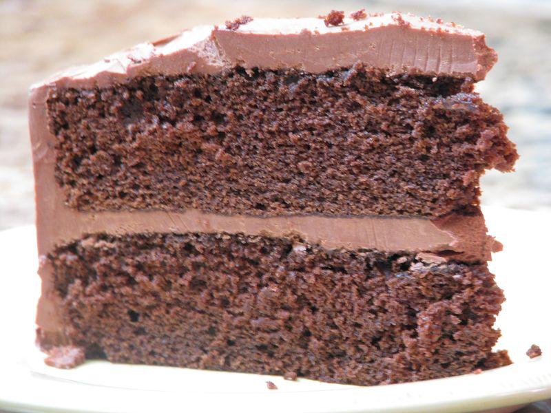 Chocolate Mayonnaise Cake at www.friendsfoodfamily.com