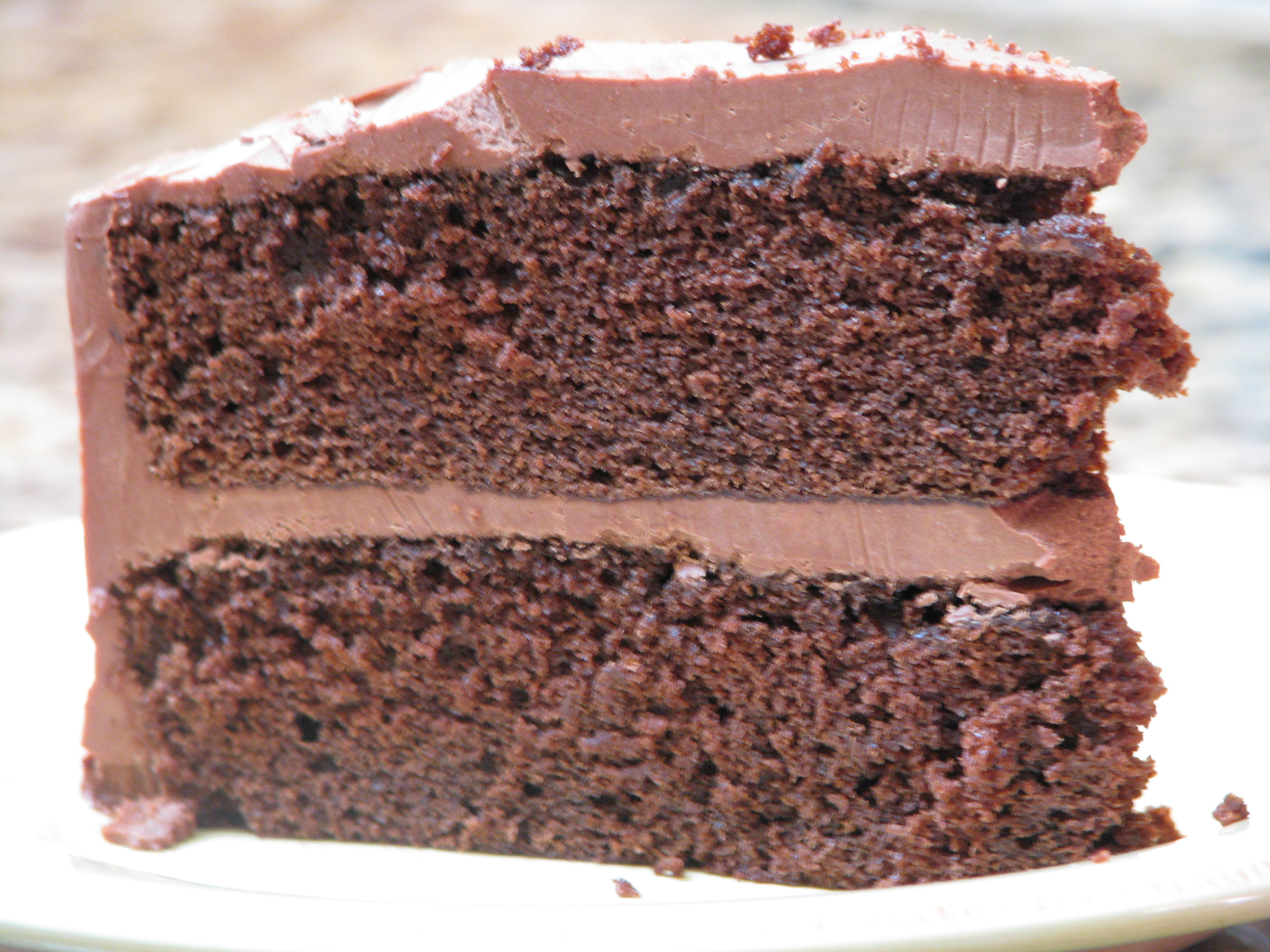 Recipe for chocolate cake with mayonnaise
