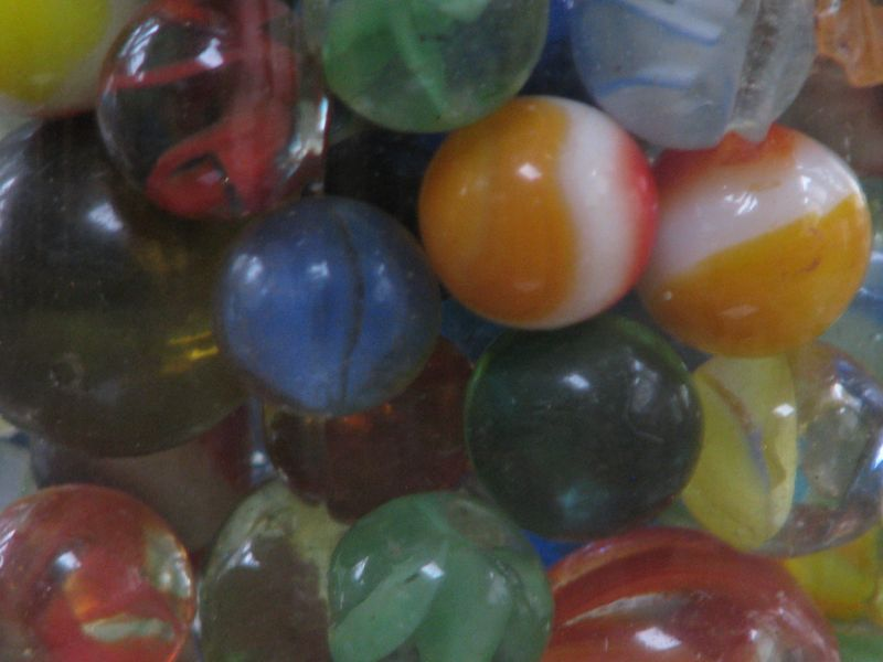 Jar O Marbles at Picture Trish
