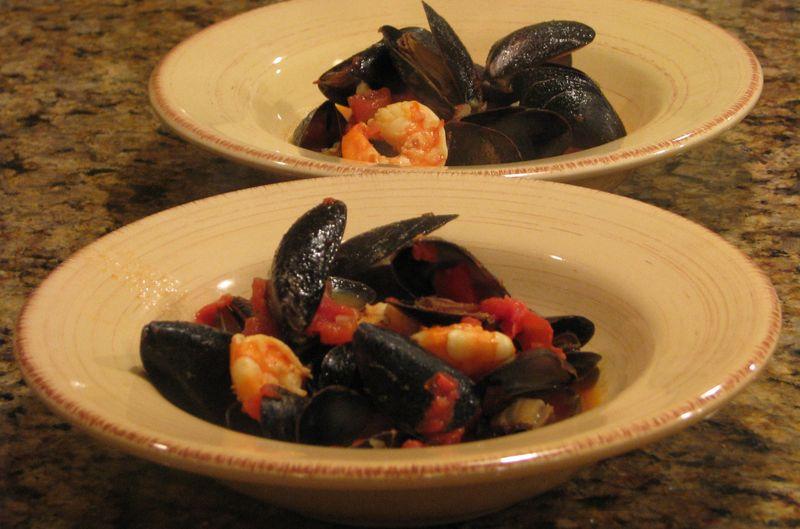 Ciopinno-Style Seafood