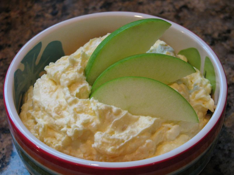 Pineapple Fruit Dip @www.friendsfoodfamily.com