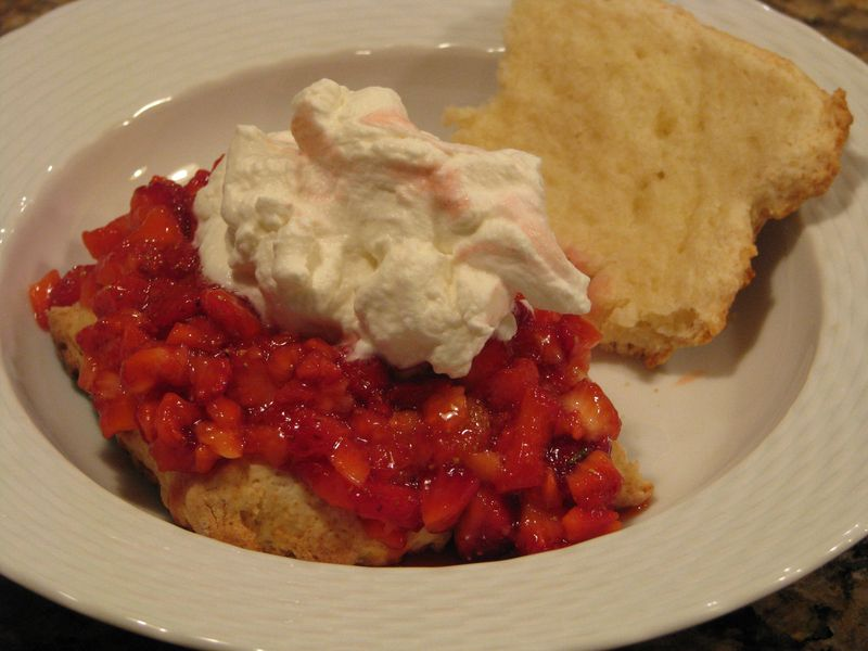Strawberry Shortcake @ www.friendsfoodfamily.com
