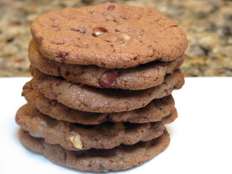 Chocolate Hazelnut Biscotti at www.friendsfoodfamily.com