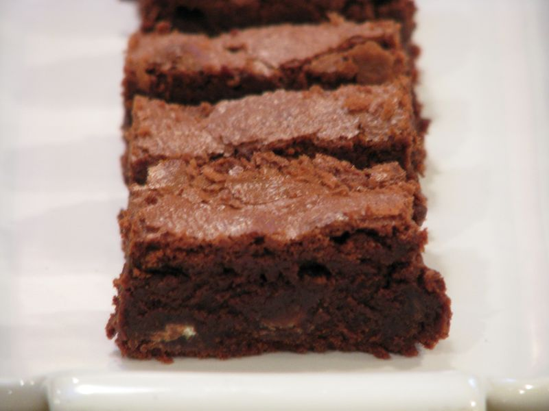 Super Fudge Mint Brownies at Friends Food Family