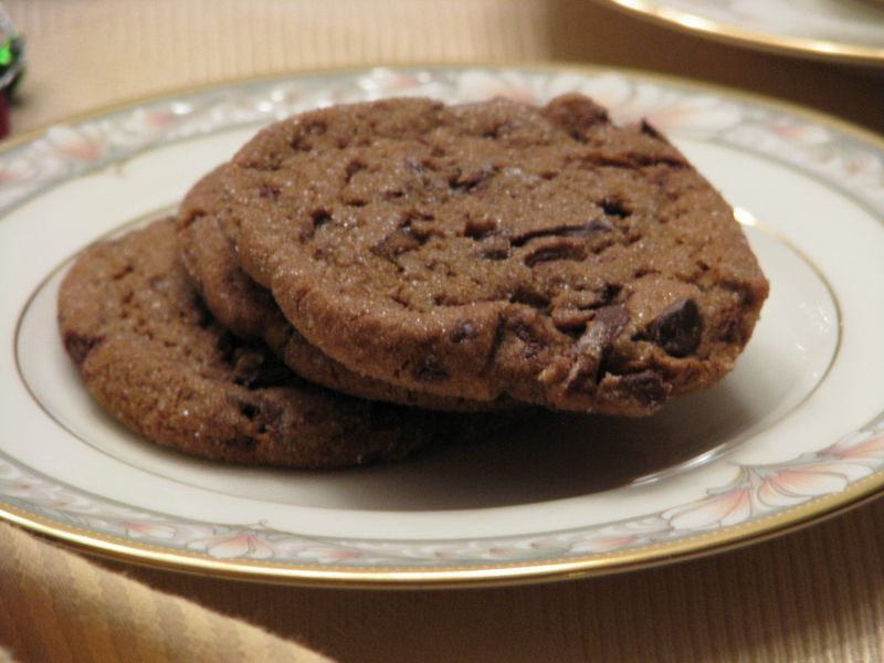 Martha Stewart's Chewy Chocolate Gingerbread Cookies at Friends Food Family
