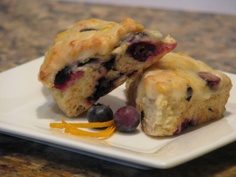 Tyler Florence's Blueberry Scones at Friends Food Family
