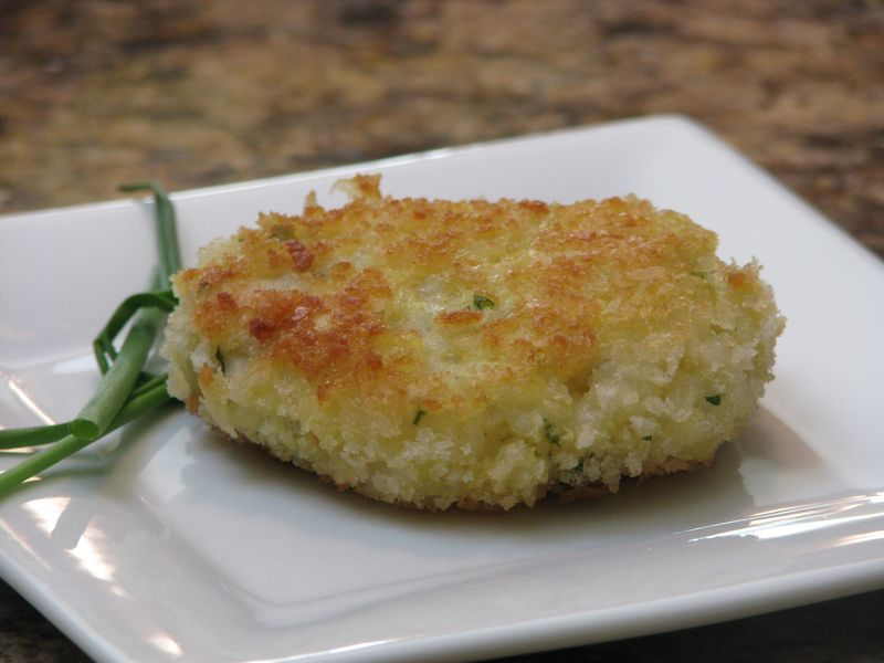 Fontina Risotto Cakes 2 at Friends Food Family