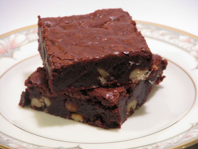 Brown Butter Cocoa Brownies at Friends Food Family