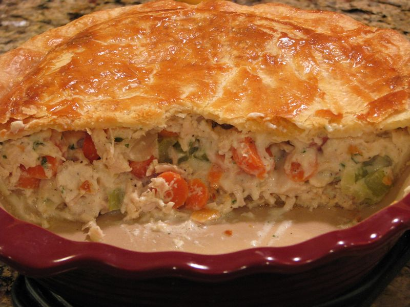 Chicken Pot Pie @Friends Food family