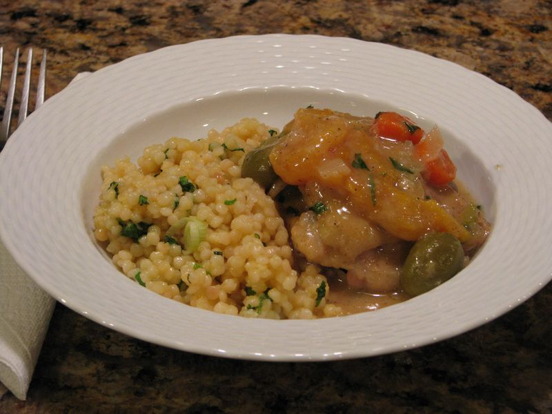 Chicken with Apricots and Olives at Friends Food Family