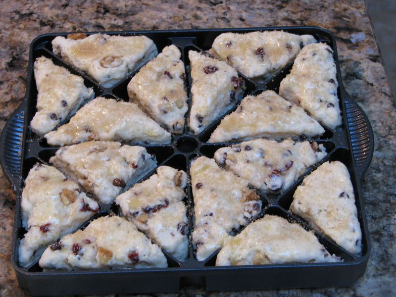 Chocolate Chip - Cherry  Mini Scones at Friends Food Family