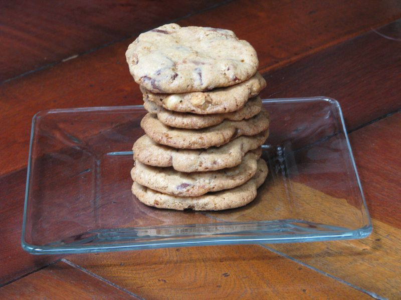 Chocolate Chip Cookies with Hazelnuts at Friends Food Family