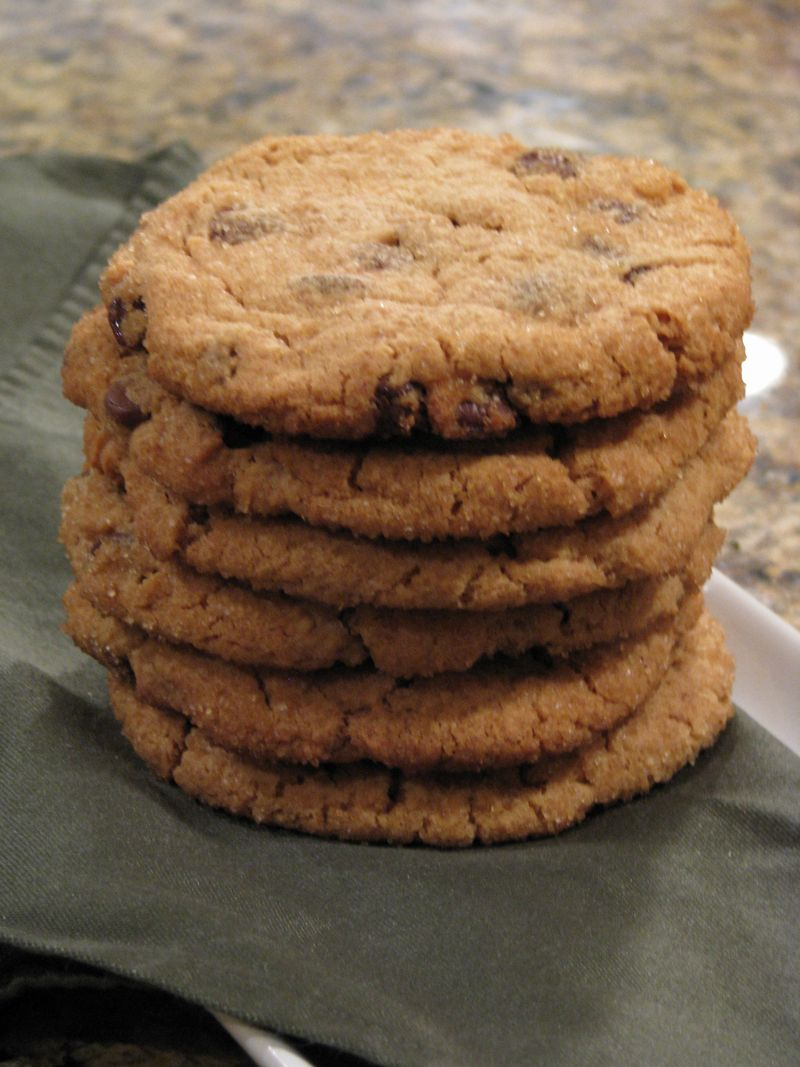 More Giant Peanut Butter Cookies at www.friendsfoodfamily.com