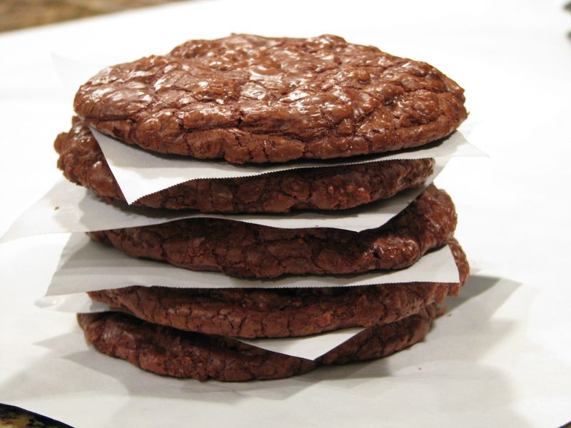 Giant Chocolate Cookies with Symphony Bars @ www.friendsfoodfamily.com