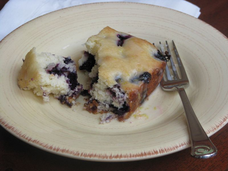 Glazed Blueberry Cake at Friends Food Family