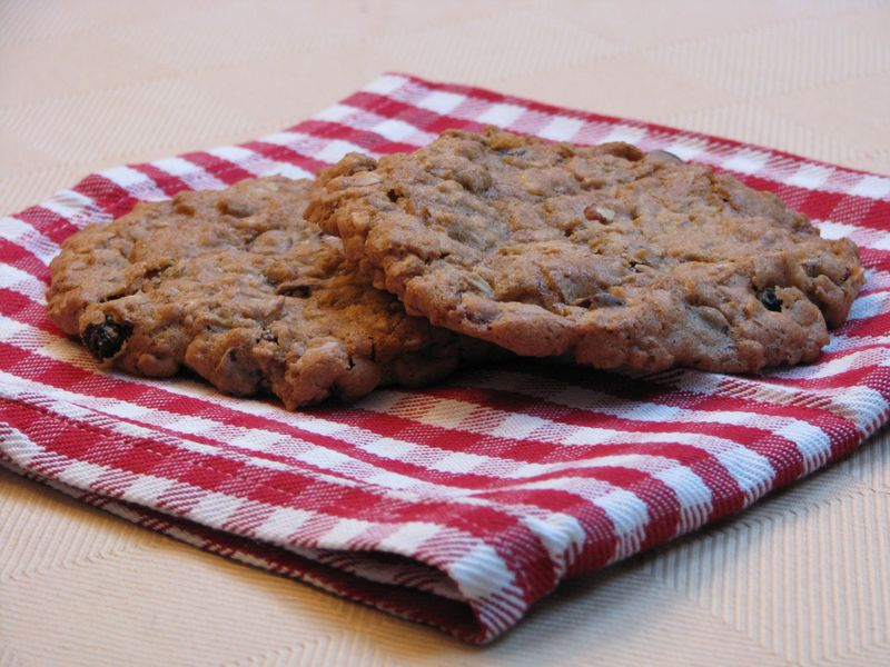 Giant Oatmeal Cookies at www.friendsfoodfamily.com