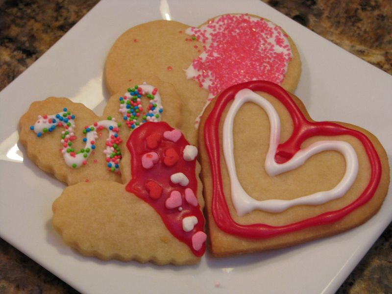 Jen's Shortbread Hearts @ friendsfoodfamily.com