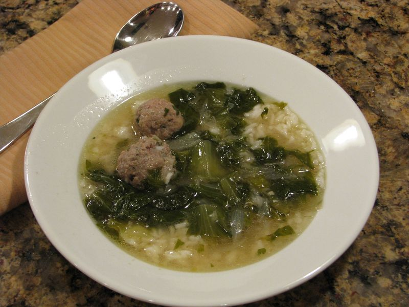 Saveur's Escarole Soup @ friendsfoodfamily.com