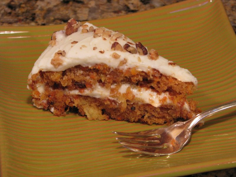 Sarabeth's Carrot Cake with a Cream Cheese Frosting @ www.friendsfoodfamily.com