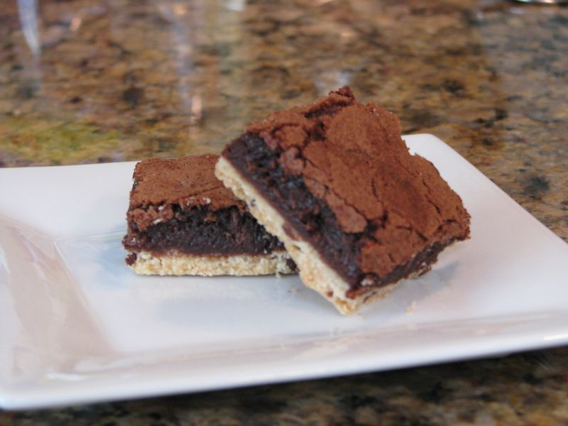 Shortbread Brownies @ www.firendsfoodfamily.com
