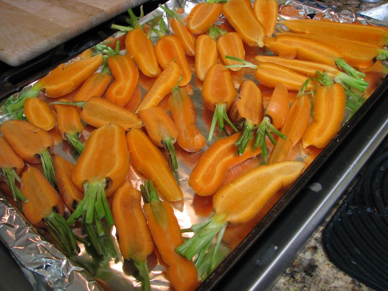 Sliced carrots @ friendsfoodfamily.com