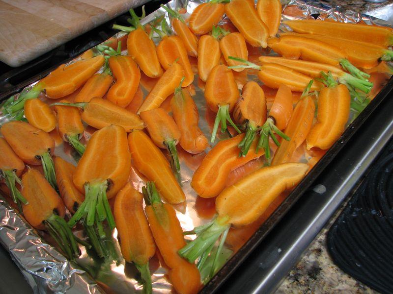Sliced carrots @ friendsfoodfamily.com
