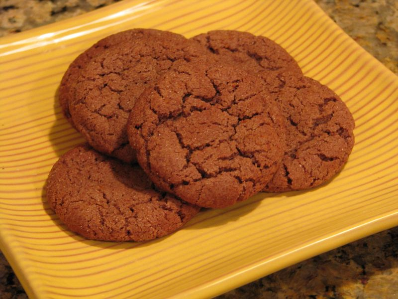 Mexican Hot Chocolate Cookies @ FriendsFoodFamily.com