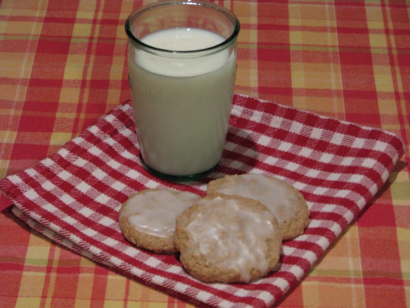 Oatmeal Icebox Cookies at FriendFoodFamily.com