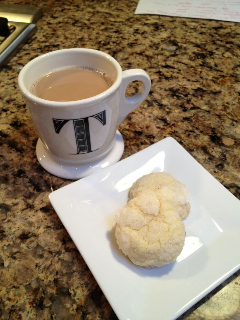 Coffee and Sugar Dipped Butter Cookies @ FriendsFoodFamily.com