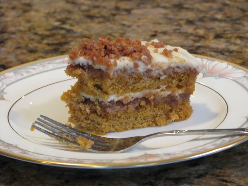 Pumpkin Crunch Cake @FriendsFoodFamily.com