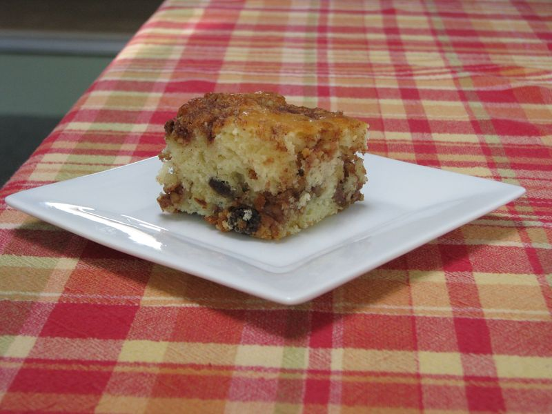 Raisin Buttermilk  Coffee Cake @ FriendsFoodFamily.com