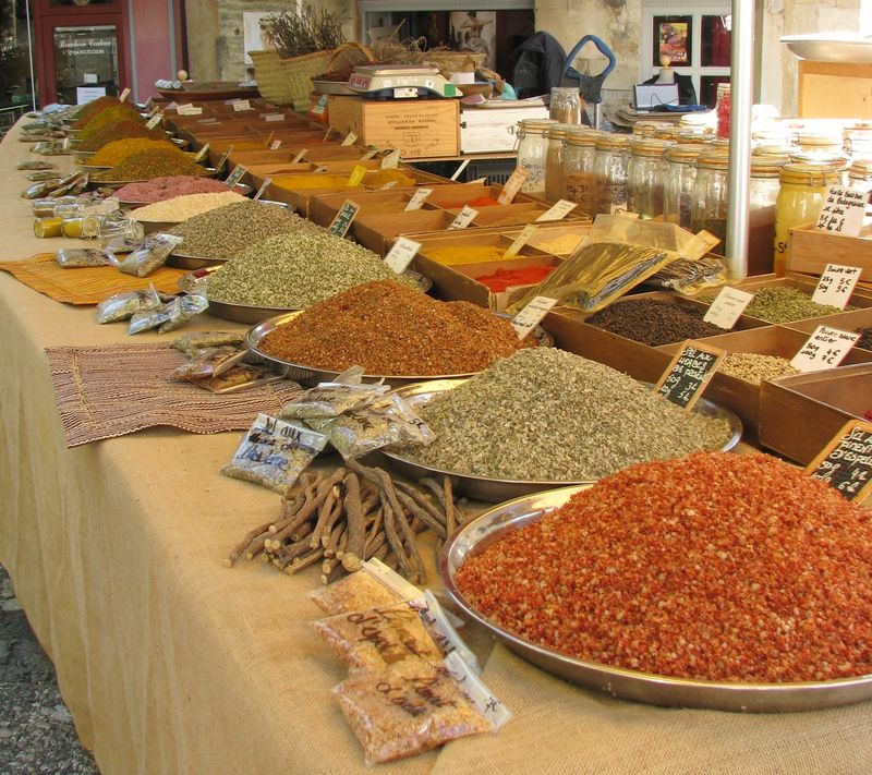 Herbs and Spices in Gordes @ picturetrish.com