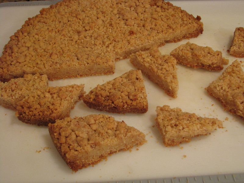 Shortbread Crumble with Friends Food Family