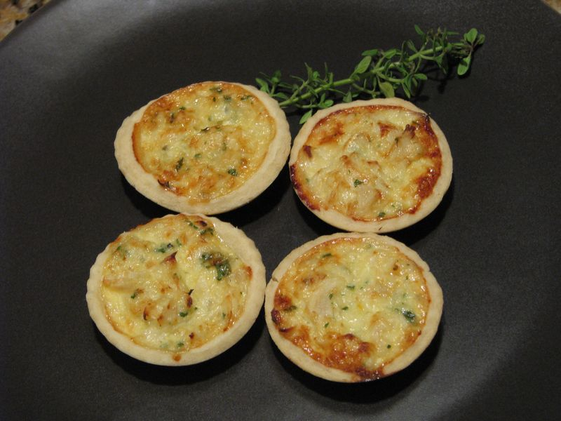 Crab Tartlets with Friends Food Family