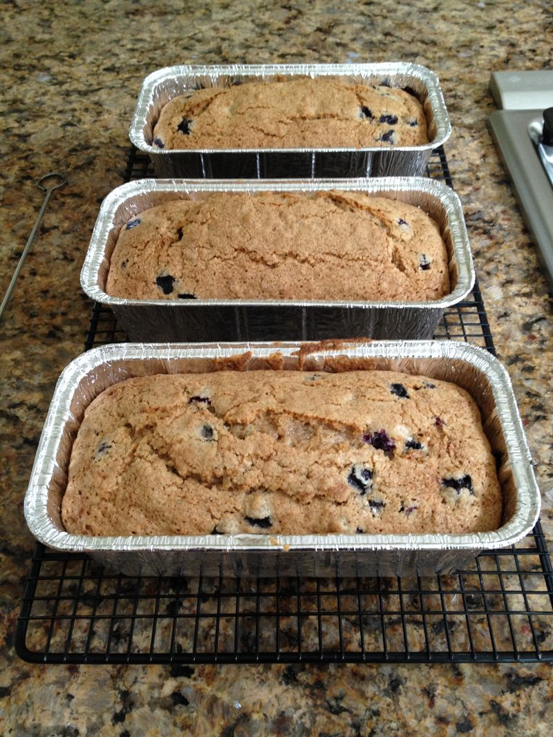 Blueberry Zucchini Bread with Friends Food Family